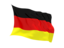 germany fluttering flag 64